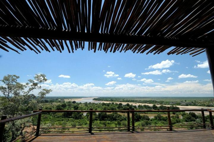 A view of the conflunce of the Limpopo and Shashe rivers