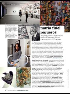 Maria Fidel Regueros - Artistic Director