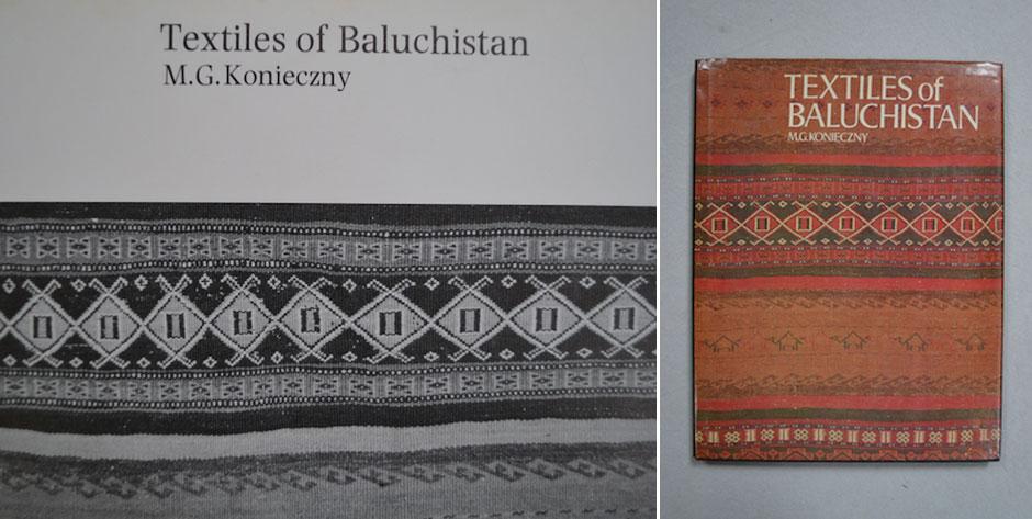 KONIECZYNY, M.G., • Textiles of Baluchistan • British Museum Press , London 1979 •#9472  £35 / US$56
