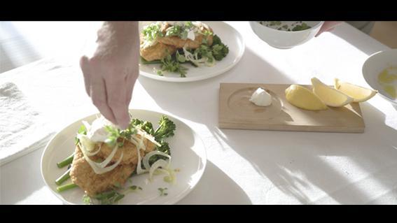 thumbnail for Tashas Parmesan Chicken Cous Cous