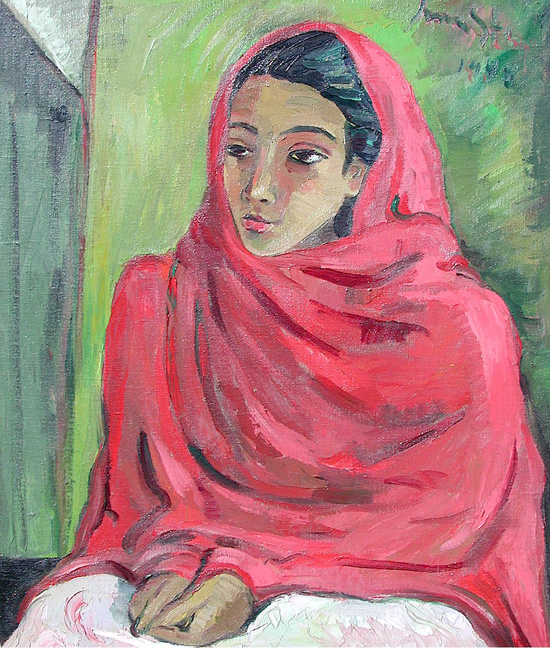 Malay woman - SOLD