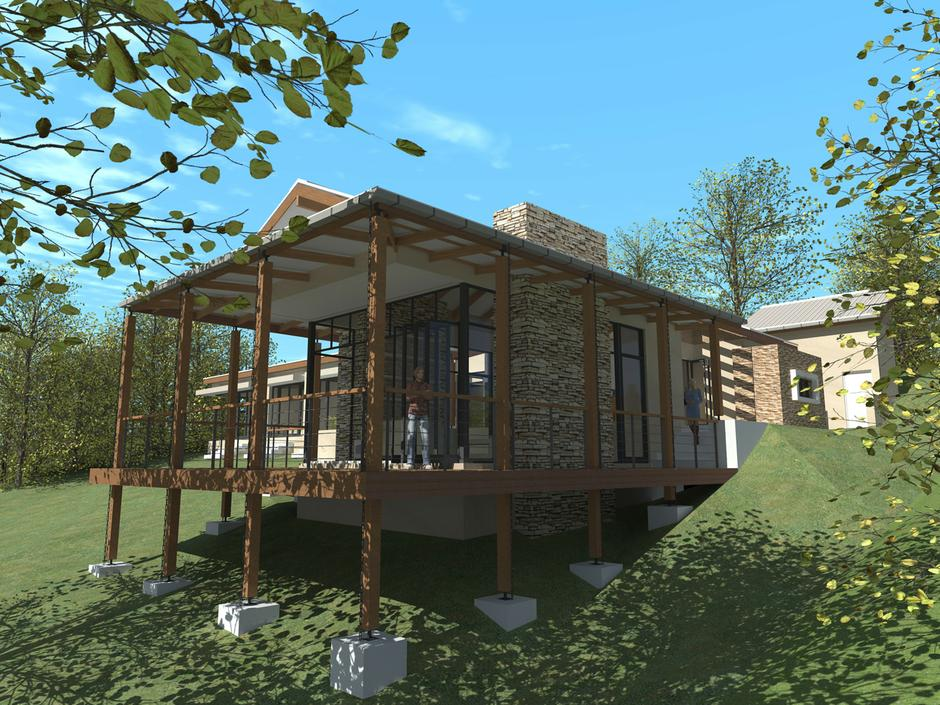 Spec house for stedone developments simbithi john for North west house