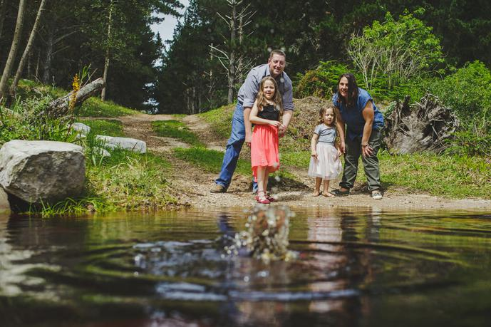 thumbnail for Fun Family Photoshoot in George South Africa.