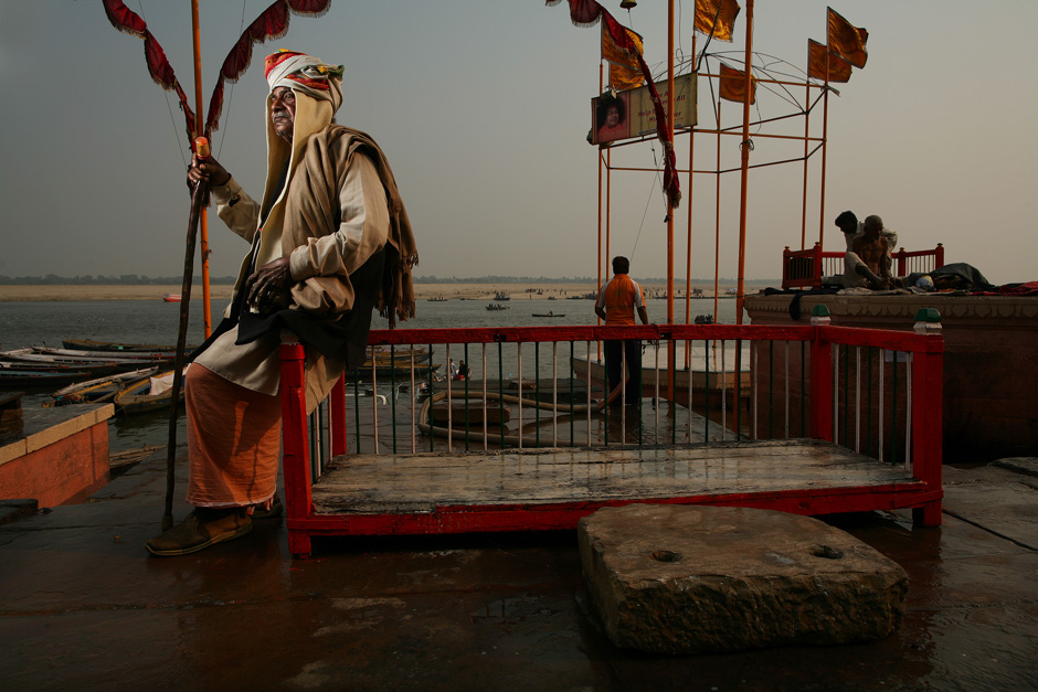 Varanasi Holy Man 1/5