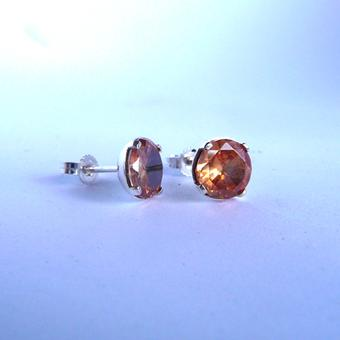 thumbnail for Citrine Earing Studs
