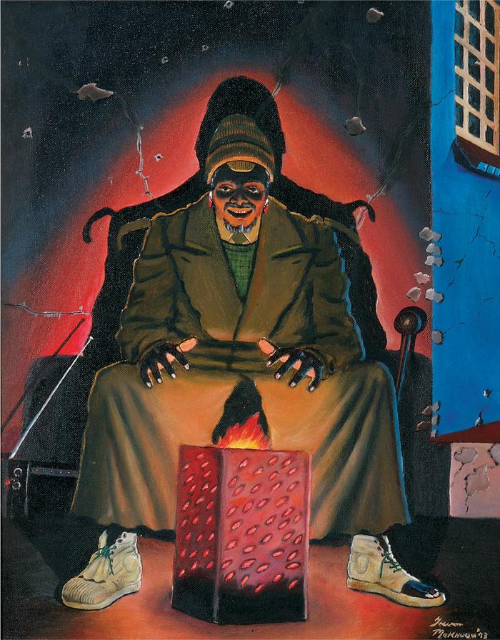Ugqayinyanga (The nightwatchman, 1993)