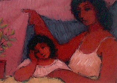 Mother and child - SOLD