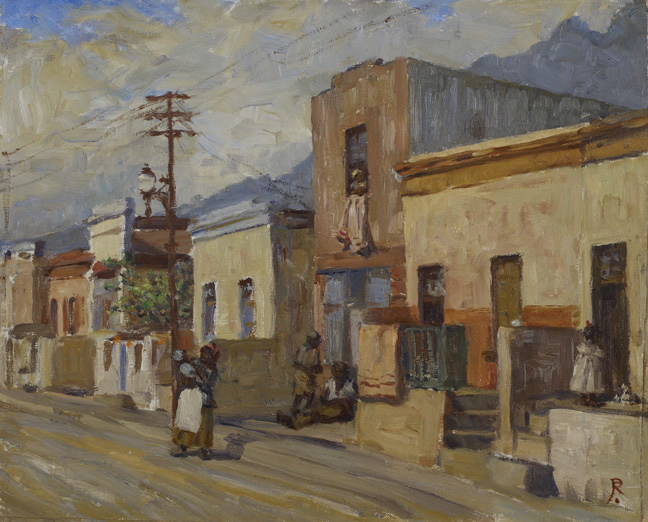 Ruth Prowse: Malay quarter - SOLD