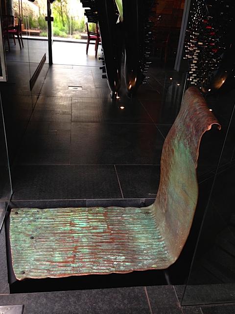 Copper Floating bridge - Ellerman House