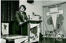 Anton Lubowski, the slain activist and Gabrielle's former husband