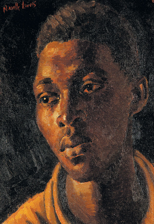 A young African man