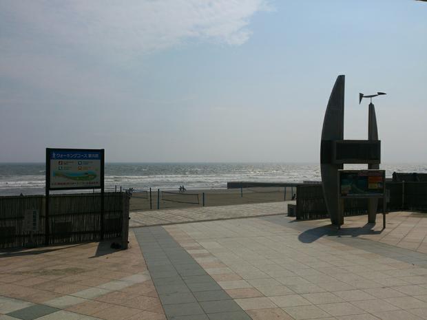 Kuganuma beach front