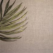 Limited Stock Collection - please check with your nearest showroom  - Palm Leaf, colour Linen