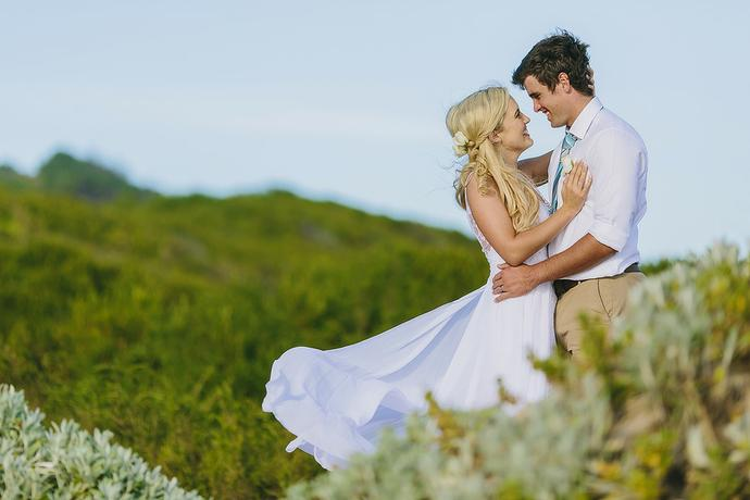 Summer Beach Wedding - Jan & Magdel