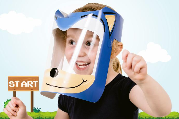 Creative KIDS Face Shields George South Africa