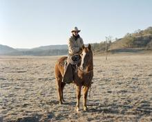 Horse and Rider, Pope Valley, California, January 2012