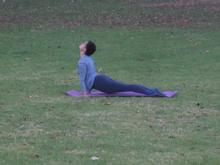 Yoga at Zoo Lake