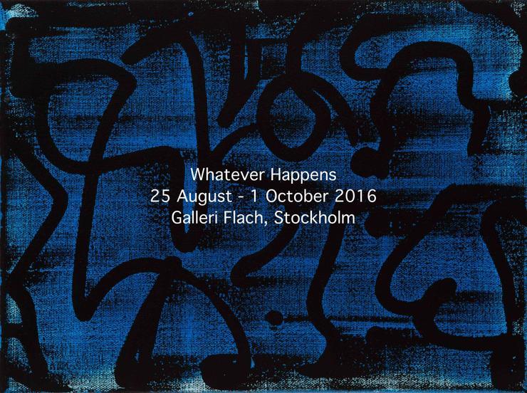 Headlines, acrylic polymer emulsion on canvas, 23 x 30 cm, 2016