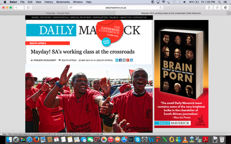 The Daily Maverick (SA) - May Day (Workers Day)