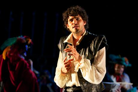 Francis Chouler as Fernando in Cardenio at Maynardville Theatre