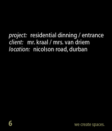Thumbnail for nicolson road - dinning room