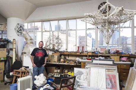 Gordon Froud in his August House studio