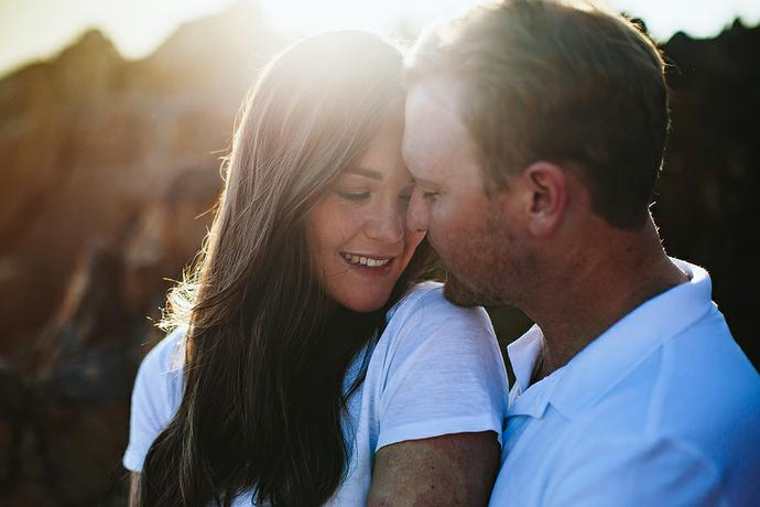 Knysna Couple Portraits - Dean & Liandi