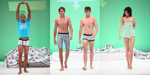 Undacova Underwear launch show at Design Indaba 2009