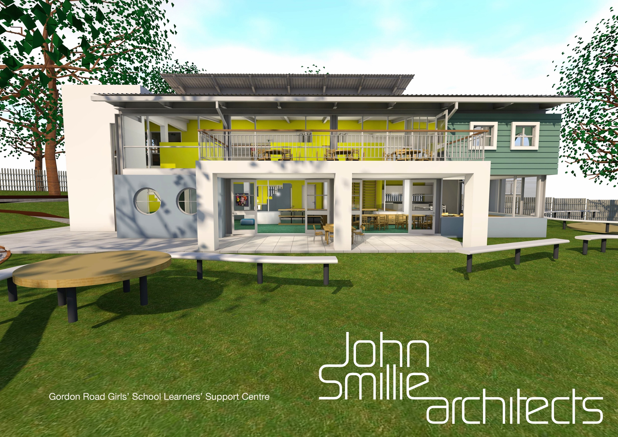 gordon road girls school   remedial teaching facility   john smillie