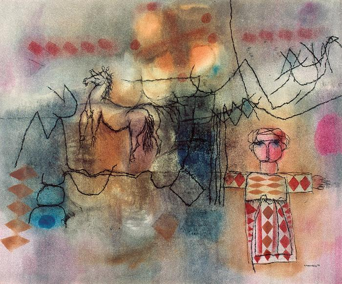 Boy and horse (1970)