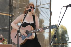Emma Du Preez of Oh Mercy at Dusty Rebels And The Bombshells Rockabilly Festival CT 2013 [49006]