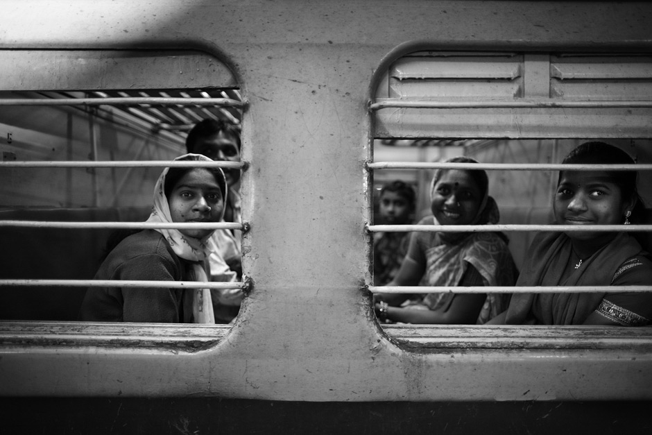 train in mumbai, india
