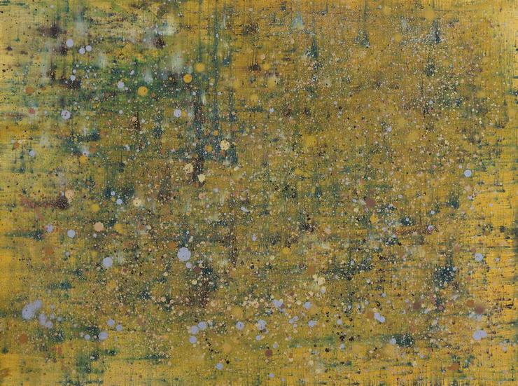 Abstract 27, oil on canvas, 100,5 x 76 cm, 2011