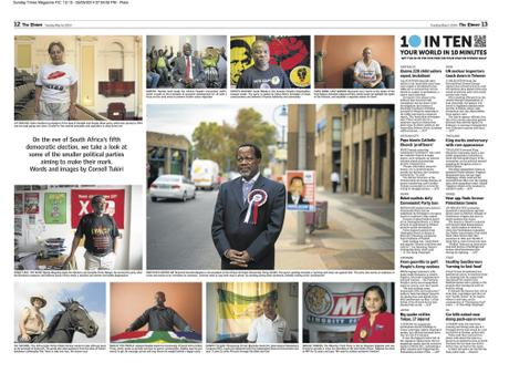 The Times (SA) - 10inTen on smaller Political Parties contesting elections