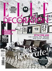 Thumbnail for Elle Decoration - Apr / May 2013