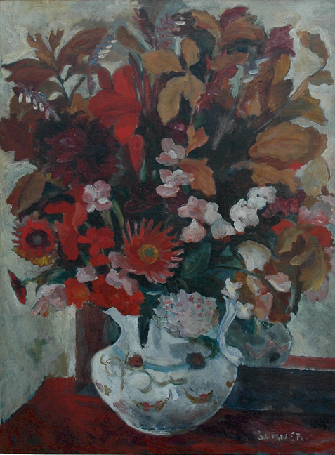 Still life with flowers - SOLD