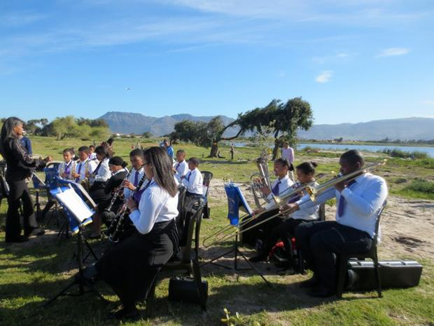 Hyde Park Primary Brass band