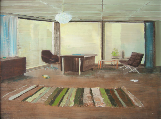 Carpet Dreams, oil on board, 30 x 42 cm, 2007