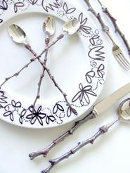 ACACIA TWIG PLACE SETTING