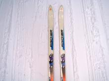 My trusty OLD skis...