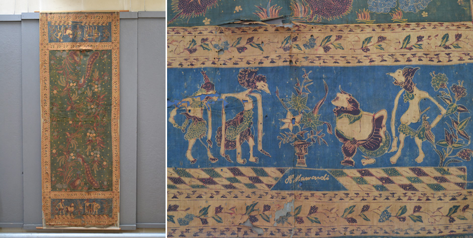 Javanese batik signed H. Mawandi •  early 20th cent (?)