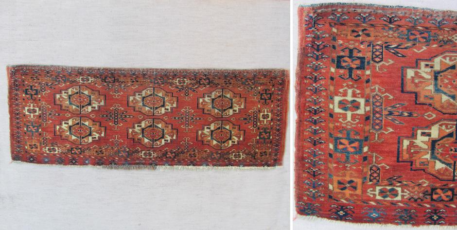 Turkmen Tekke torba • likely mid 19th cent