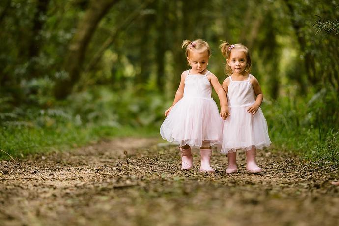 Twins Birthday Photo Shoot