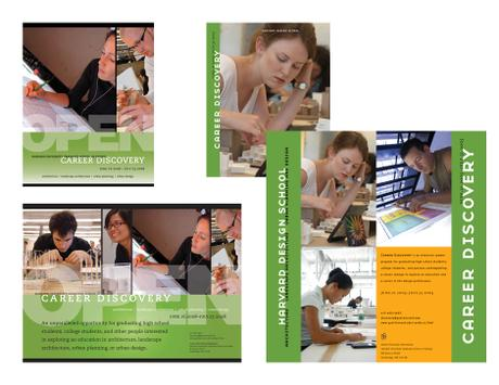 thumbnail for Career Discovery Program Brochures and Posters 2008 & 2005
