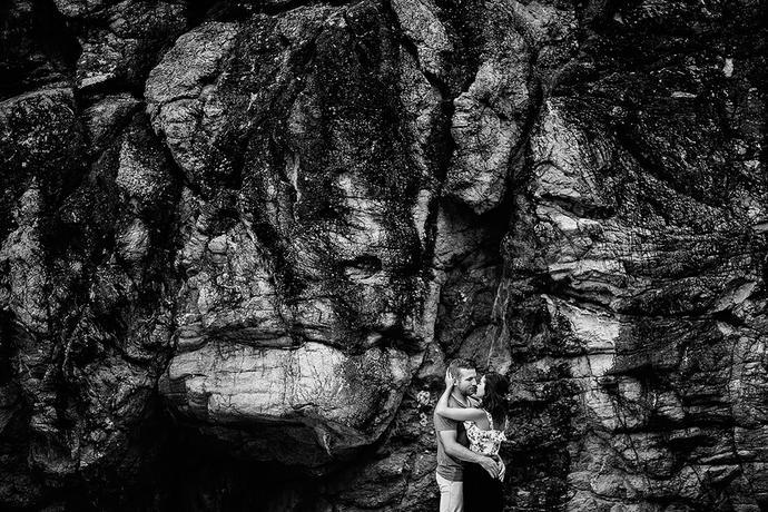 Sunset Beach Engagement Shoot - Tiaan & Melani