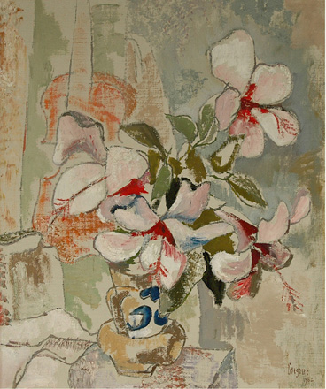 Still life with hibiscus - SOLD
