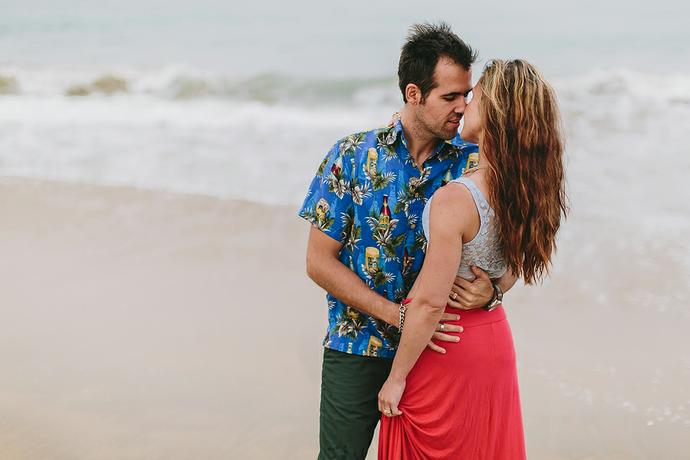 Mossel Bay Beach Shoot - Christiaan & Izelle