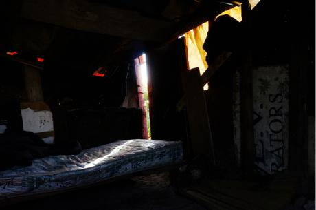 thumbnail for Bed in mens shack.