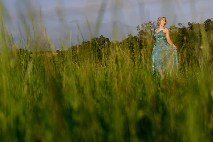 Matric Farewell Photos in a field near George in the Garden Route.