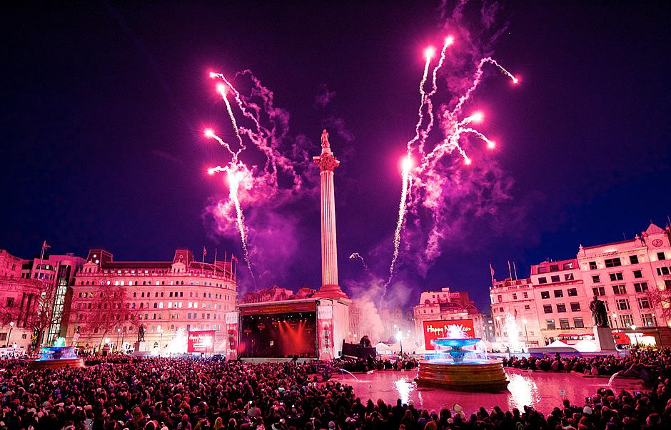 Chinese New Year 2016 - Trafalgar Square